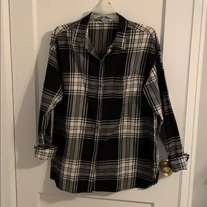 Old Navy Boyfriend Flannel Shirt